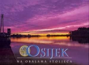 Osijek na obalama stoljeća - Fotomonografija - Na hrvatskom, engleskom i francuskom jeziku Ive Mažuran, Josip Vrbošić meki uvez
