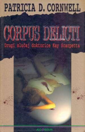 Corpus delicti Cornwell Patricia tvrdi uvez