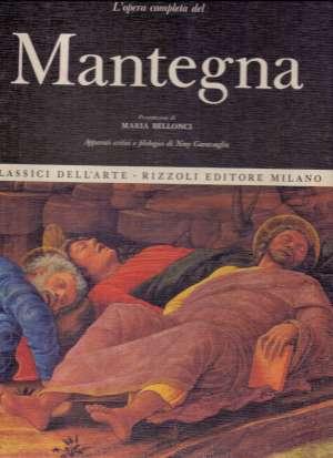 Andrea Mantegna - Classici dell arte - l opera completa Maria Bellonci tvrdi uvez
