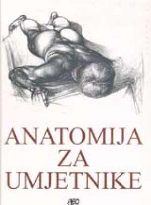 Anatomija za umjetnike Jeno Barcsay tvrdi uvez