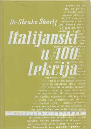 Stanko škerlj - Italijanski u 100 lekcija