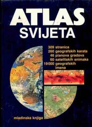 Atlas svijeta Alfonso Cvitanović / Priredio tvrdi uvez