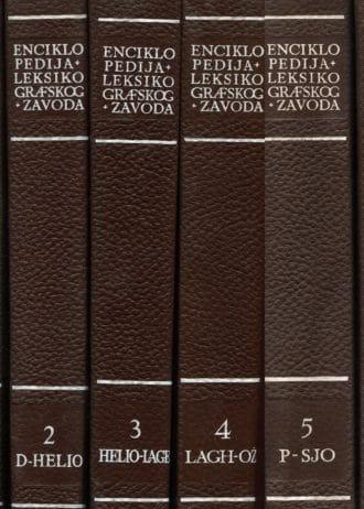 Enciklopedija leksikografskog zavoda 1-6