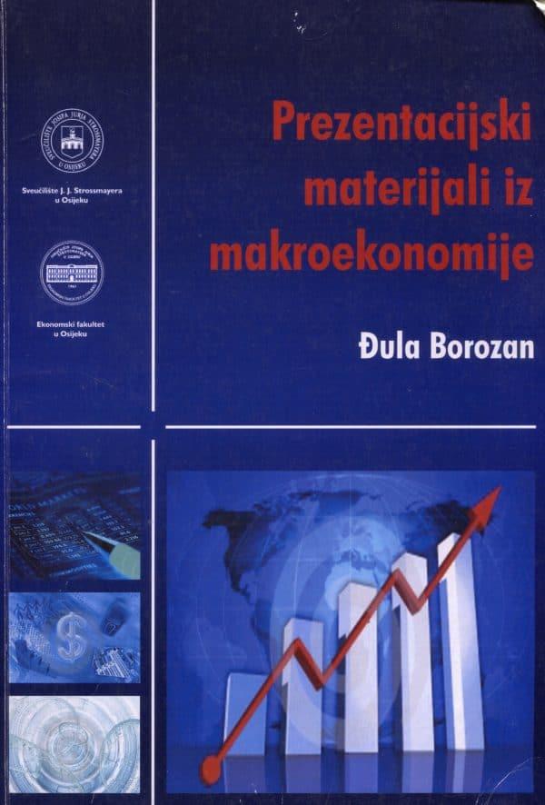 Prezentacijski materijali iz makroekonomije