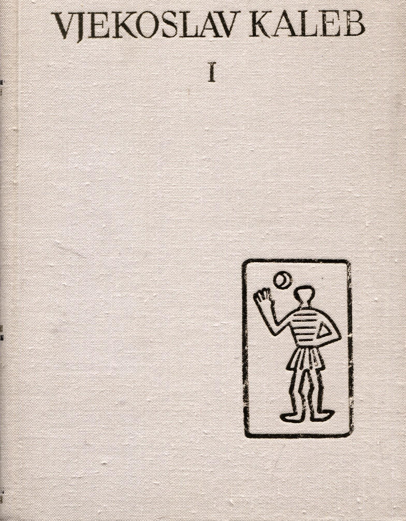 Izabrane novele 118. Vjekoslav Kaleb I tvrdi uvez