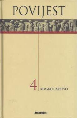Povijest 4 - Rimsko carstvo Enrico Cravetto/uredio tvrdi uvez