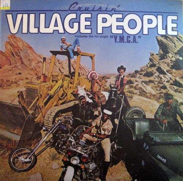 Gramofonska ploča Cruisin Village people LL 0562, stanje ploče je 10/10