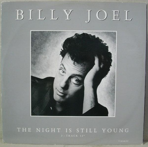Gramofonska ploča Billy Joel The night is still young, stanje ploče je 10/10