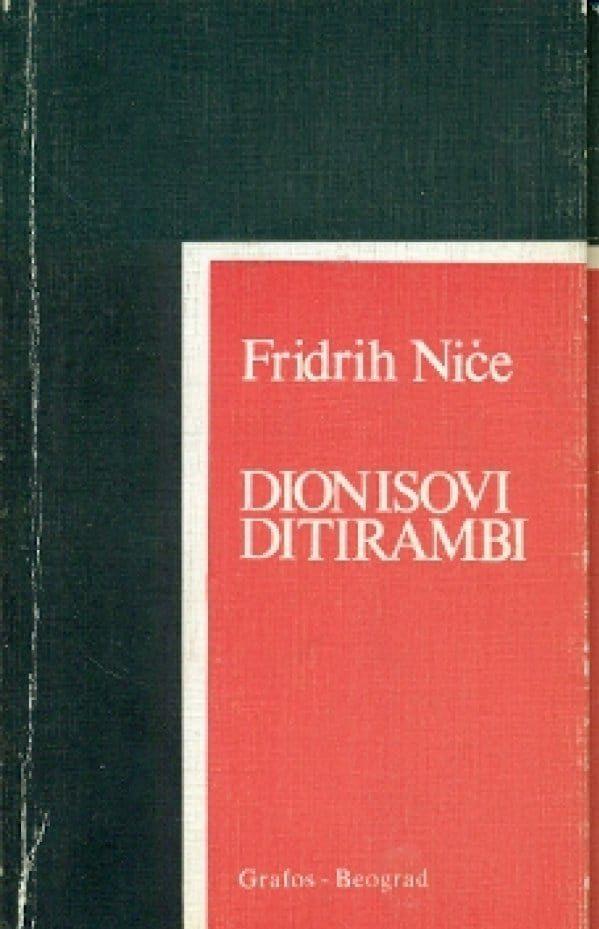 Dionisovi ditirambi Friedrich Nietzsche meki uvez