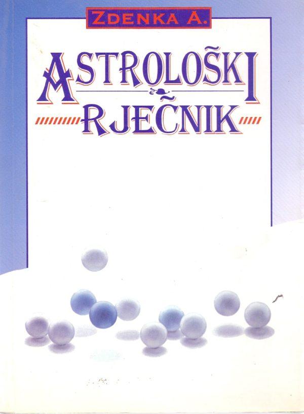 Astrološki rječnik Zdenka Andrijić meki uvez