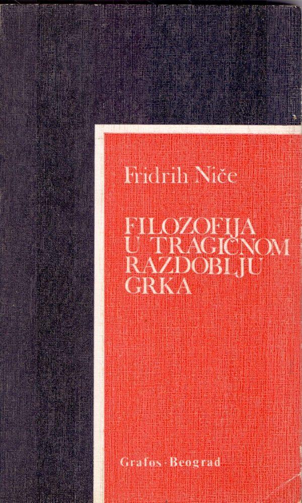 Filozofija u tragičnom razdoblju Grka