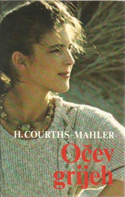Očev grijeh Mahler Hedwig Courths tvrdi uvez