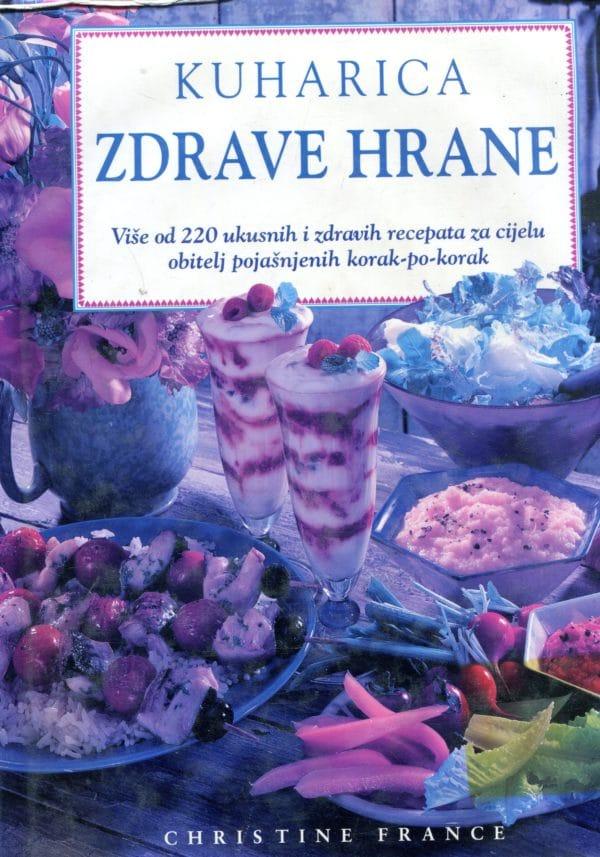 Kuharica zdrave hrane Christine France tvrdi uvez