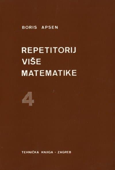 Repetitorij više matematike 4