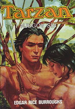 Tarzan i njegov sin Burroughs Edgar Rice tvrdi uvez
