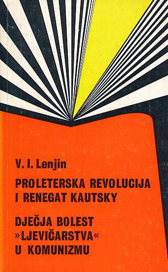 Proleterska revolucija i renegat Kautsky V. I. Lenjin meki uvez