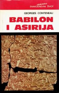 Babilon i Asirija Georges Conteneau tvrdi uvez