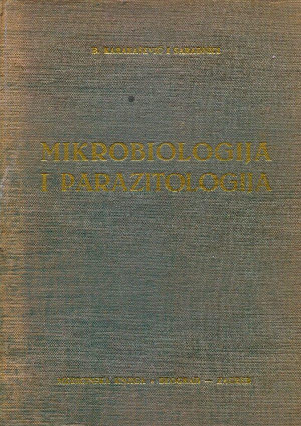 Mikrobiologija i parazitologija B. Karakašević i suradnici tvrdi uvez