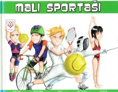 Mali sportaši - olimpijski sportovi, kako odabrati sport Davor Juričić tvrdi uvez
