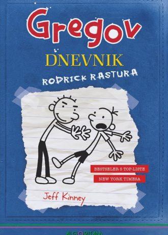 Kinney Jeff, Autor - Gregov dnevnik - Rodrick rastura