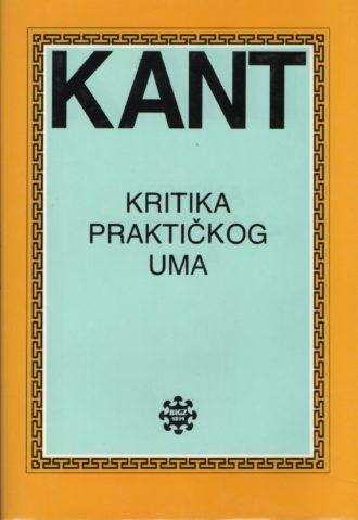 Kritika praktičnog uma Immanuel Kant tvrdi uvez