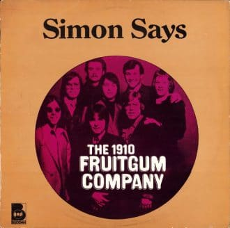 Gramofonska ploča Simon Says The 1910 fruitgum company, stanje ploče je 8/10