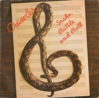 Gramofonska ploča Crawler Snake, Rattle And Roll EPC 82965, stanje ploče je 9/10