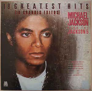Gramofonska ploča Michael Jackson 18 greatest hits, stanje ploče je 10/10