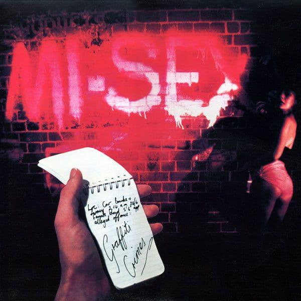 Gramofonska ploča Graffiti Crimes Mi-sex, stanje ploče je 10/10
