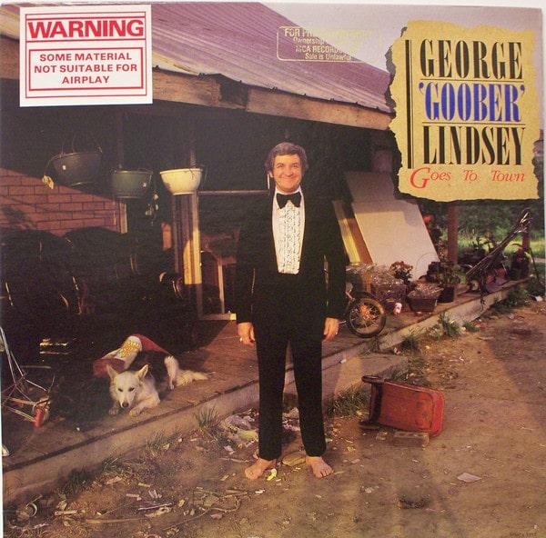Gramofonska ploča George Lindsey George Goober Lindsey Goes To Town MCA 5353, stanje ploče je 9/10