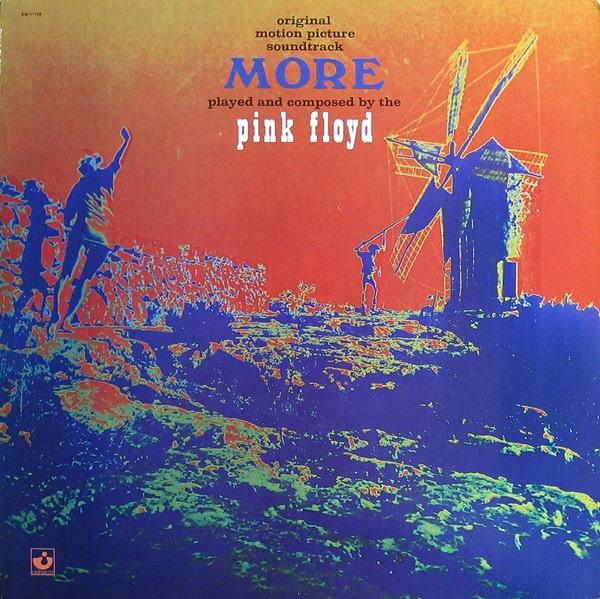 Gramofonska ploča Pink floyd More Soundtrack, stanje ploče je 8/10