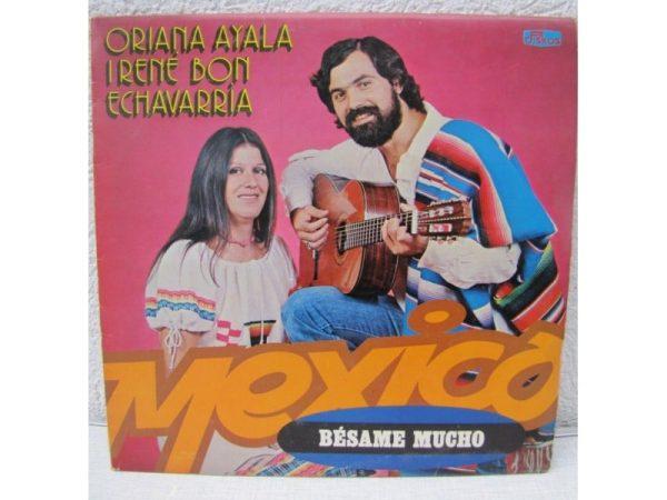 Gramofonska ploča Oriana Ayala I Rene Bon Echavaria Mexico, stanje ploče je 9/10