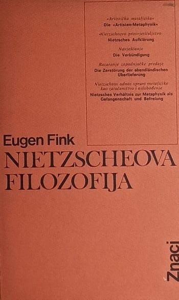 Nietzscheova filozofija Eugen Fink meki uvez
