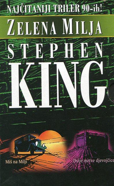 Zelena milja komplet 1-6 King Stephen meki uvez