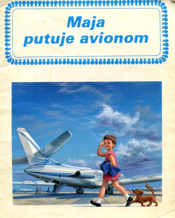 Maja putuje avionom Gilbert Delahaye, Marcel Marlier meki uvez
