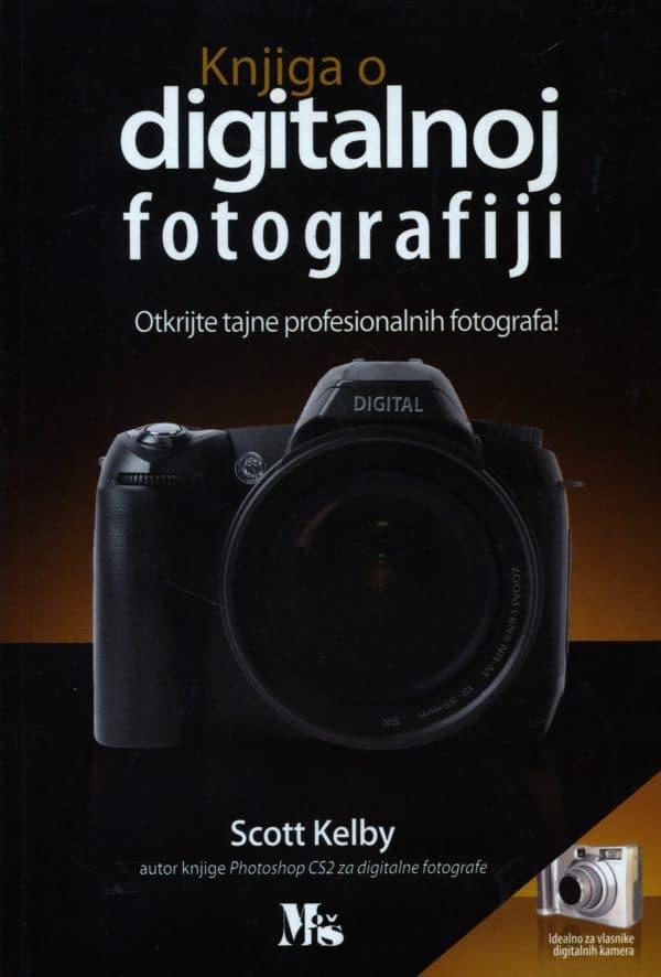 Knjiga o digitalnoj fotografiji Scott Kelby meki uvez
