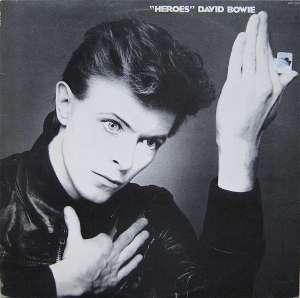 Gramofonska ploča David Bowie Heroes srca 730, stanje ploče je 10/10
