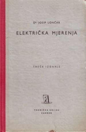 Električka mjerenja Josip Lončar tvrdi uvez