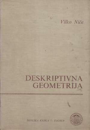 Deskriptivna geometrija Vilko Niče tvrdi uvez