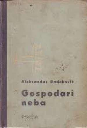 Gospodari neba Aleksandar Radaković tvrdi uvez