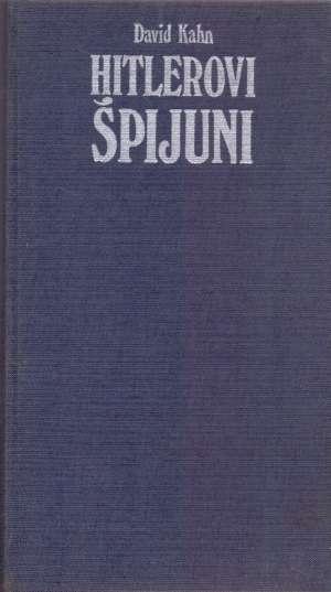 Hitlerovi špijuni 1-2 David Kahn tvrdi uvez
