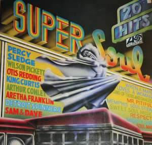 Gramofonska ploča Arthur Conley / Wilson Pickett / Aretha Franklin Super Soul ATL 40559, stanje ploče je 10/10
