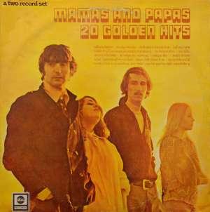 Gramofonska ploča Mamas & The Papas 20 Golden Hits LSABC 75021/22, stanje ploče je 10/10