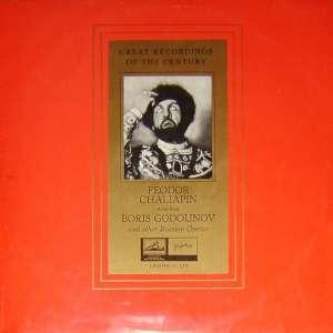 Gramofonska ploča Fjodor Šaljapin Arias From Boris Godunov And Other Russian Operas (Arije I Scene Iz Ruskih Opera) LPHMV-V-279, stanje ploče je 10/10