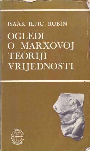 Ogledi o Marxovoj teoriji vrijednosti Isaak Iljič Rubin meki uvez