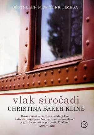 Vlak siročadi Kline Christina Baker meki uvez