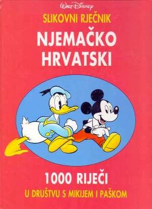Walt Disney - Njemačko hrvatski slikovni rječnik