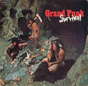 Gramofonska ploča Grand Funk Railroad Survival 1C 062-80 783, stanje ploče je 7/10