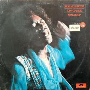 Gramofonska ploča Jimi Hendrix Hendrix In The West LPV 5776, stanje ploče je 9/10