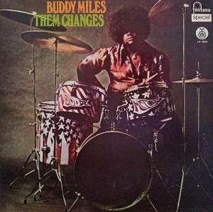 Gramofonska ploča Buddy Miles Them Changes LP-5504, stanje ploče je 8/10